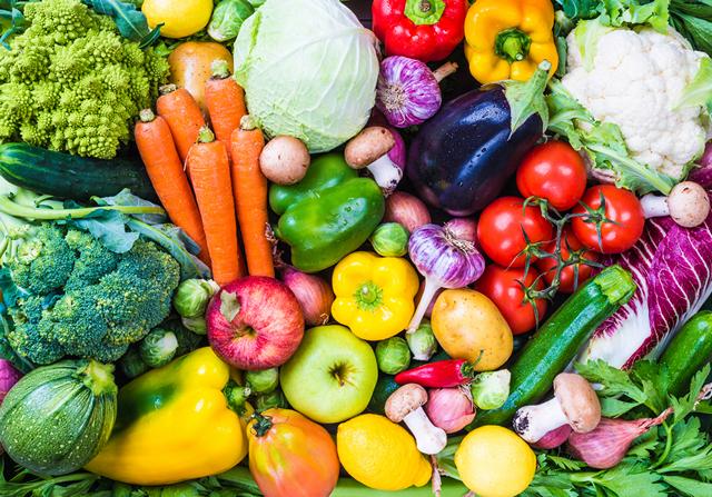 Тарелка здорового питания овощи