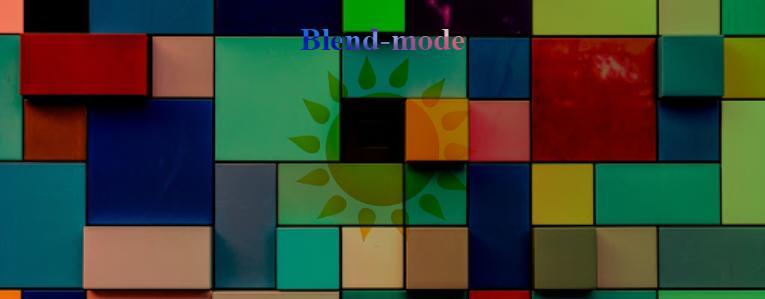 Background CSS: множественный фон, смешивание, blend-mode